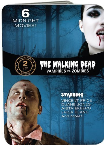The Walking Dead: Vampires vs. Zombies (Fangs of the Living Dead / Grave of the Vampire / The Devil's Nightmare / Zombie Hell House / Night of the Living Dead / The Last Man on Earth) by Anita Ekberg