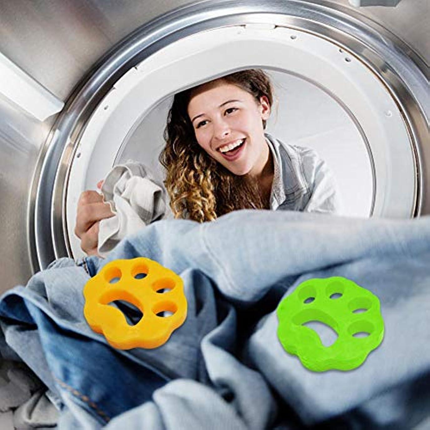 早める廃棄するスカリーLibeauty 2ピースクリーニングボール洗濯機脱毛装置ペット理髪服脱毛器ドライヤーペット脱毛パッド再利用可能