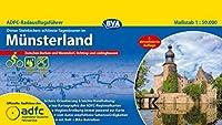 ADFC-Radausflugsfuehrer Muensterland 1:50.000 praktische Spiralbindung, reiss- und wetterfest, GPS-Tracks Download: Zwischen Borken und Warendorf, Ochtrup und Luedinghausen
