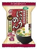 アマノフーズ にゅうめん 五種の野菜(あっさり味噌味) 18.5g×4個