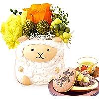 誕生日 の プレゼント 人気商品 花 バラ おいもや どら焼き お菓子 花とスイーツ お祝いギフト プリザーブドフラワー…