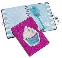 3C4G Cupcake Locking Diary (36104) [並行輸入品]