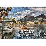 Lugano - Perle im Tessin (Tischkalender 2020 DIN A5 quer): Impressionen aus der Stadt am Luganer See (Monatskalender, 14 Seiten )