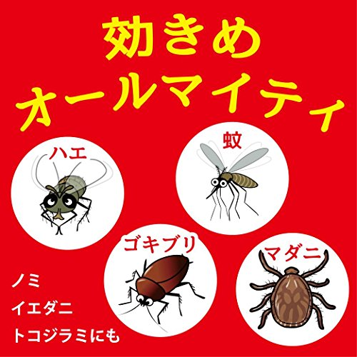 『キンチョール ハエ・蚊殺虫剤スプレー 450mL ローズの香り』の3枚目の画像