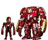 アーティストMIX アベンジャーズ/エイジ・オブ・ウルトロン TOUMAxアイアンマン・マーク43(バトルダメージ版)&ハルクバスター[DXセット] 高さ約140mm プラスチック製 塗装済み完成品フィギュア