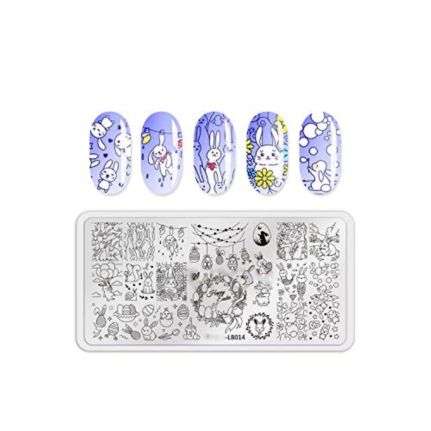 指紋ケーキ着替えるMR FOXネイルスタンピングプレート猫犬動物柄ネイルスタンプスタンピングテンプレート画像ボードダイネイルツール,LB014