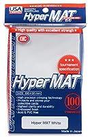 KMC Hyper Matte White 100-count Standard Size Sleeves Pack [USA packaging] [並行輸入品]