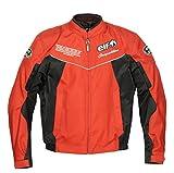 エルフ(ELF) バイクジャケット ナイロンブルゾン レッド LW EL-7221