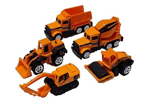 建設 車両 ミニカー 5台 セット ダンプカー ロードローラ...
