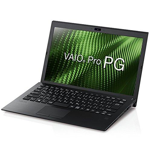 VAIO VAIO Pro PG 13.3型ワイド/i3/4G/128G/LTE/TPM/指紋/Win10Pro/黒/VAIO株式会社製  VJPG111LAL1B