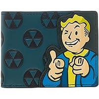 [ベセスダ]Bethesda Fallout 4 Vault Appliqué With Embossing Bi Fold Wallet Costume Accessory LYSB0141FH7S2-TOYS [並行輸入品]