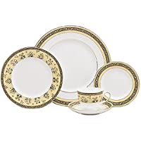 Wedgwood India 5-Piece Dinnerware Place Setting Service for 1 【Creative Arts】 [並行輸入品]