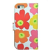 013b981da3 iPhoneシリーズ マリメッコデザイン 手帳型 ケース (iPhone5/5s/SE ...