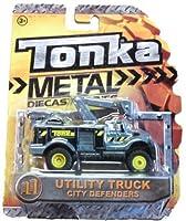 Tonka Metal Diecast Bodies - City Defenders - Utility Truck 1:64