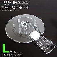 ミドルカラーズ/ニアモア ハイブリッド式加湿器専用 アロマ台座
