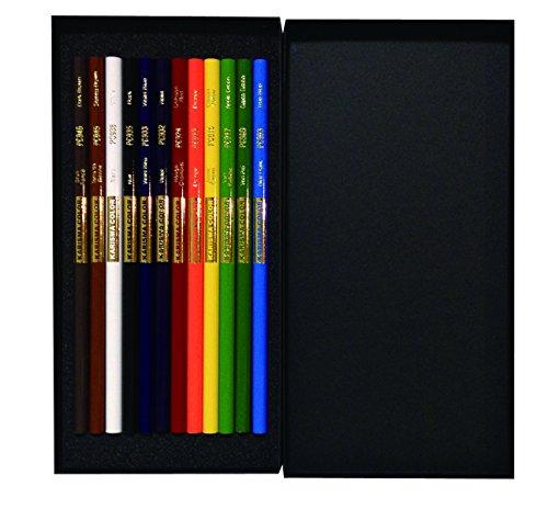 サンフォード 色鉛筆 カリスマカラー 12色セット