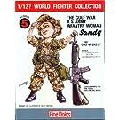 1/12 ワールドファイターシリーズ FT5 アメリカ陸軍女性兵士 サンディ (湾岸戦争)