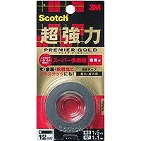 3M スコッチ  超強力両面テープ プレミアゴールド スーパー多用途 粗面用 KPR