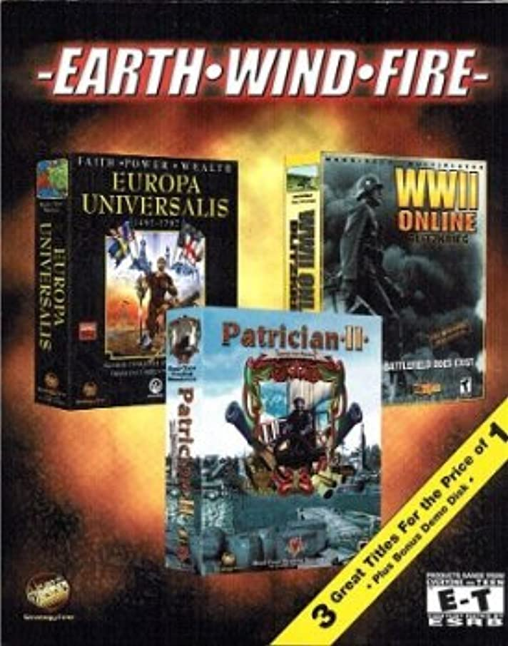覆す偏見古代[Triple Play CD-ROM] Europa Universalis, WWII Online and Patrician II (輸入版)