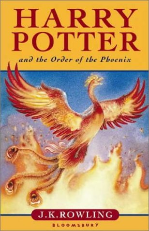 Harry Potter (Book 5) UK版: Harry Potter and the Order of the Phoenix