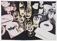 ポスター アンディーウォーホル After the Party 1979 額装品 アルミ製ハイグレードフレーム(ホワイト)
