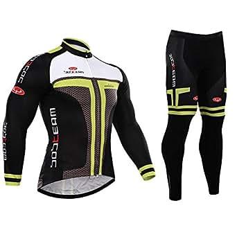 冬用 サイクルジャージ 長袖 裏起毛 サイクルウェア ロードバイクウエア 上下セット 自転車 通気 保温 XXXL
