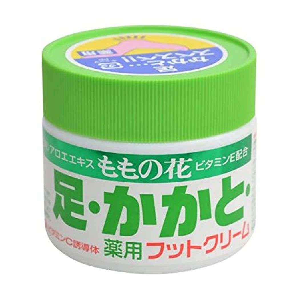 酸化物置換徹底的にももの花 薬用フットクリーム 70g