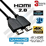 ATZ High Speed HDMI v2.0 Cable 4K with Ethernet - 1 Meter