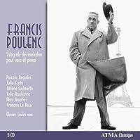 Poulenc: Int茅grale des m茅lodies pour voix et piano (2013-10-15)