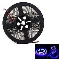 LEDテープ 24V 防水 5m 300連5050SMD LEDテープライト 白ベース 正面発光 薄型 切断可能 青