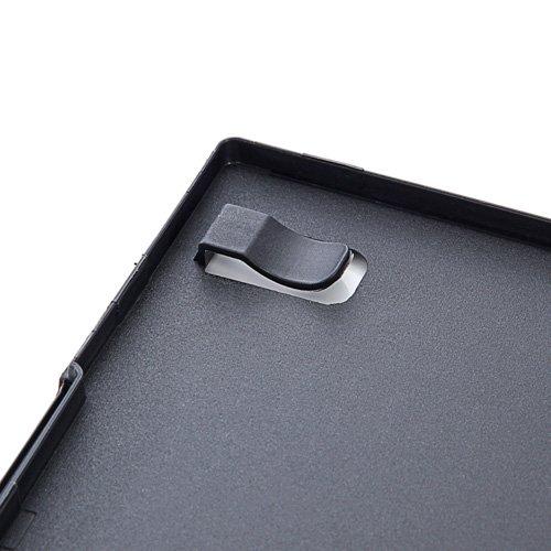 『サンワダイレクト DVDケース スリム トールケース 100枚 7mm厚 1枚収納 ブラック 200-FCD039BK-100』の5枚目の画像