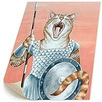 BLI BYAN 猫 戦服 女 インテリア 油絵 ポスター 布画 レトロポスター 写真 イラスト モノクロ モノトーン 絵 壁飾り 印刷布製 壁写真 自然 風景画