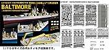 ライオンロア 艦船用エッチングパーツ 1/700 WWII 米重巡洋艦ボルティモア用 ディテールアップセット
