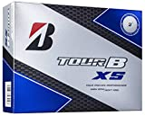 ブリヂストン(BRIDGESTONE) ゴルフボール TOUR B XS CORPORATE COLOR ゴルフボール(1ダース 12球入り) メンズ 8SCXJ ホワイト 弾道:中弾道 ボールタイプ:スピン