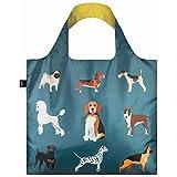 (ローキー)LOQI 折りたたみ エコバッグ ポーチ付き CATS & DOGS Woof