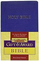 Holy Bible: King James Version, Blue, Imitation Leather, Gift & Award (Bible Kjv)