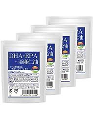 DHA+EPA+亜麻仁油 30粒 4袋セット 計120粒 最大4か月分 ソフトカプセルタイプ