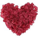 フラワーシャワー花びら スカーレッド 500枚セット バラ 結婚式 2次会 パーティー の演出に花びら ローズペダル 「Pichidr」