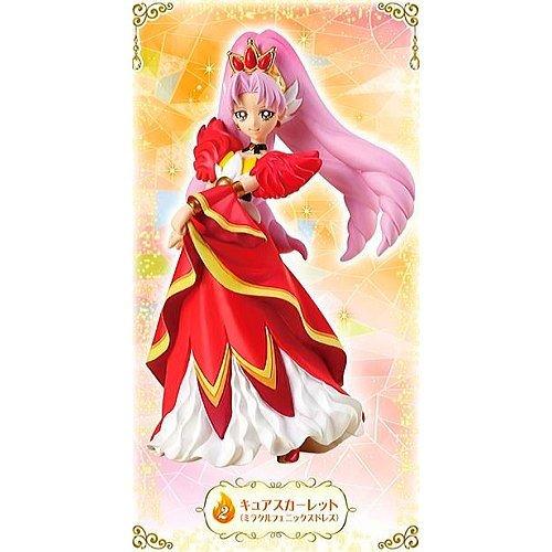 Go!プリンセスプリキュア キューティーフィギュア2 [2.キュアスカーレット(ミラクルフェニックスドレス)](単品)