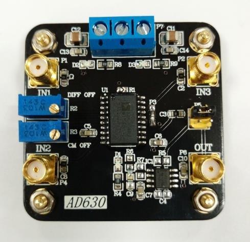 ben_ke バランス型変調器AD630チップロックインアン...