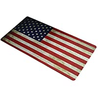 900x 400x 3mm US Flag Prints拡張ゲームWide Largeマウスパッドビッグサイズデスクマットfor Atlas Spectrum RGB Tenkeyless Mechanicalゲームキーボード、DPI光学式センサーゲーム用マウス