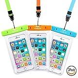 Best CASE-ONのiPhone 4ケース - ユニバーサル防水ケース、aNkOe 2パックipx8防水ポーチWater GamesドライバッグアウトドアスポーツケースiPhone X 877Plus 6s Plus Note Review