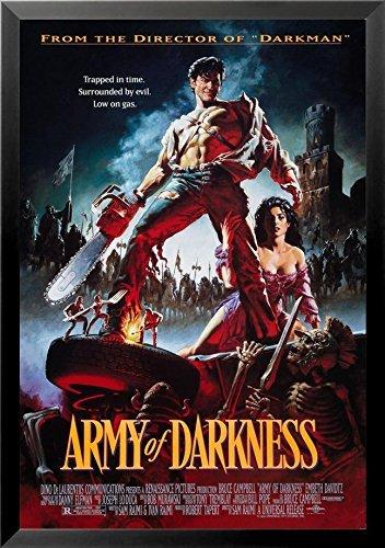 Buyartforless Framed Army of Darkness–Gas 1993low 36x 24映画アートプリントポスターEvil Deadブルース・キャンベル