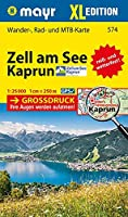 Zell am See - Kaprun XL 1 : 25 000: Wander-, Rad- und Mountainbikekarte. GPS-genau