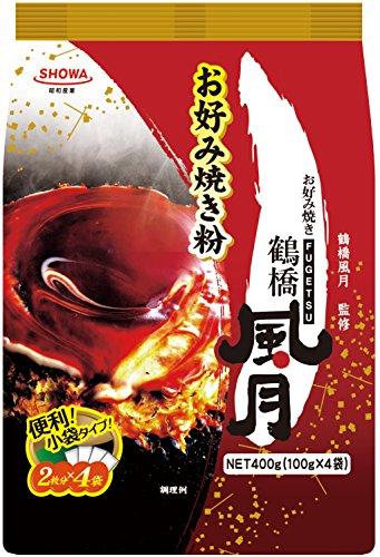 昭和 鶴橋風月お好み焼き粉 400g×6袋