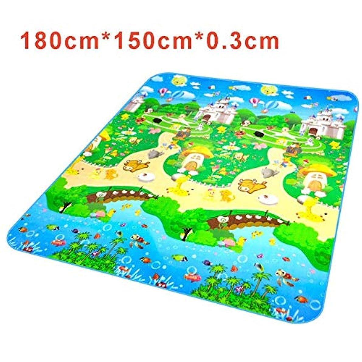 振る選択するデータムキッズダンスカーペット子供の教育の手紙アルファベットラグPlaymatのためにダンスマット赤ちゃんフロアマットプレイマット毛布カーペットの幼児を再生 子供用ダンスマット (Color : Castle)
