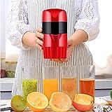 コールドプレスプロセスを使用してミニ絞りハンドオレンジジューサーキッチンまたはダイニングルームレモンザクロオレンジジュース子供のジュースマシン