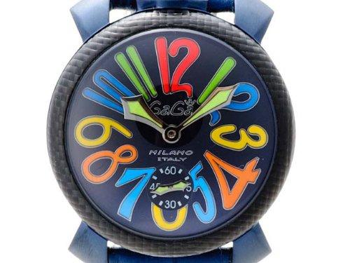 腕時計(手巻き) 5016.4 BL/MULTI/BL ガガミラノ