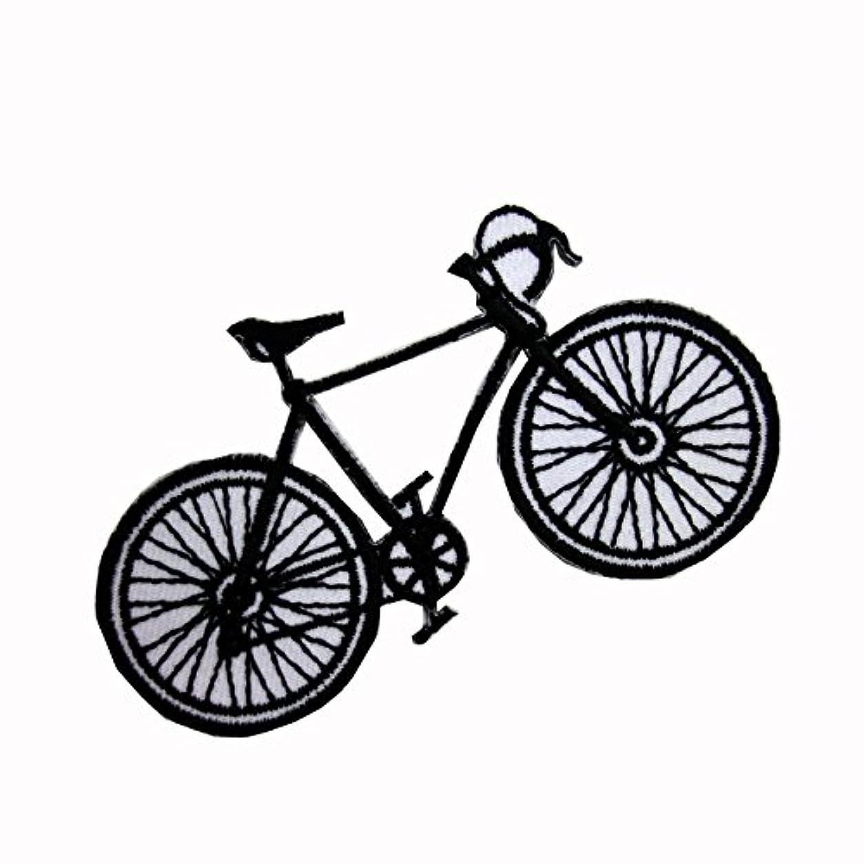 ロック解除未就学以前はWAPPEN/アイロン貼付ワッペン 自転車