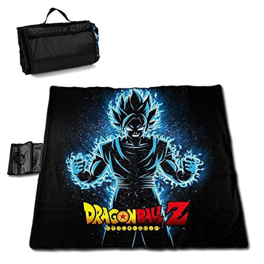 ビバ詐欺エリート銀河G119 HQ_DragonBall_Z_logo CU ピクニック マット 折りたたみ コンパクト 防水 レジャーシート 軽量 厚手 アウトドア